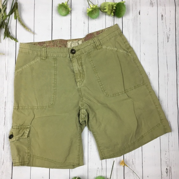 Life Is Good Pants - Life Is Good Green Shorts size 4
